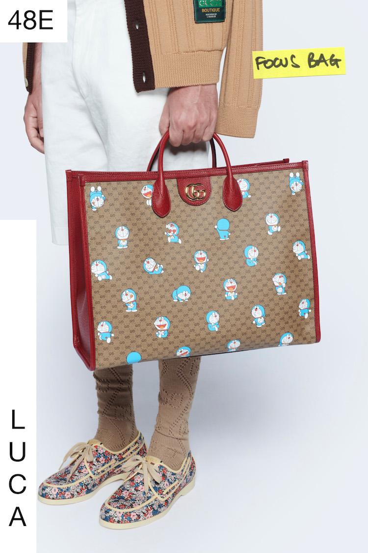 Gucci哆啦A夢聯名正式登場!水桶包 、托特包到皮夾,不是可愛,是可愛到死!-0