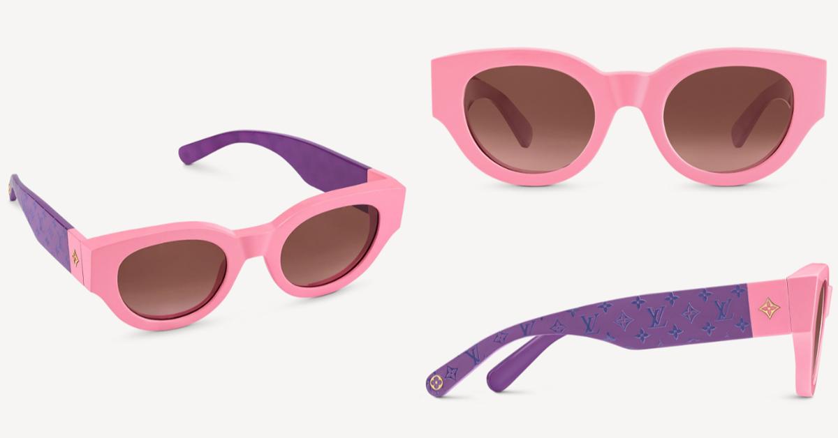 LV太陽眼鏡推薦這5款!防疫保護眼睛必備,「Dunes」復古撞色設計太搶眼-5