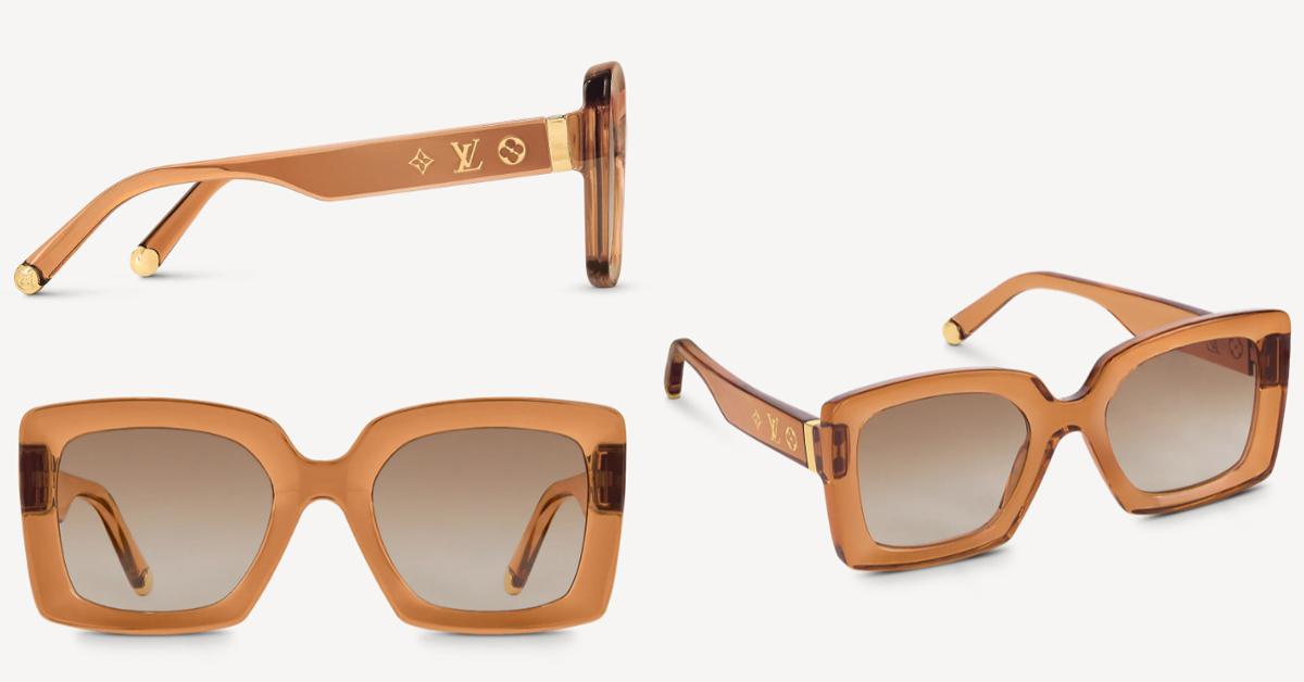LV太陽眼鏡推薦這5款!防疫保護眼睛必備,「Dunes」復古撞色設計太搶眼-4