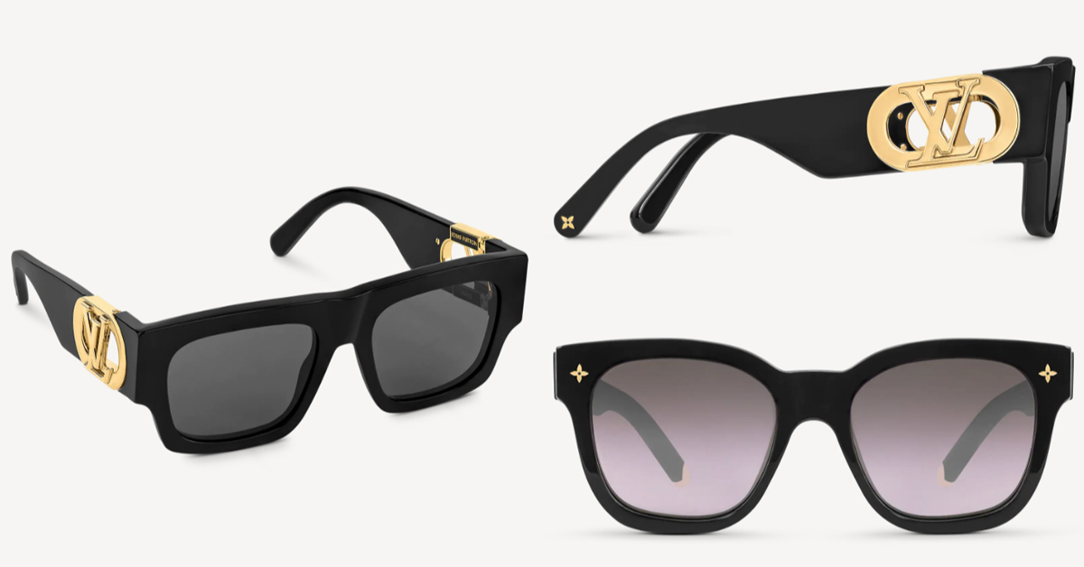LV太陽眼鏡推薦這5款!防疫保護眼睛必備,「Dunes」復古撞色設計太搶眼-2