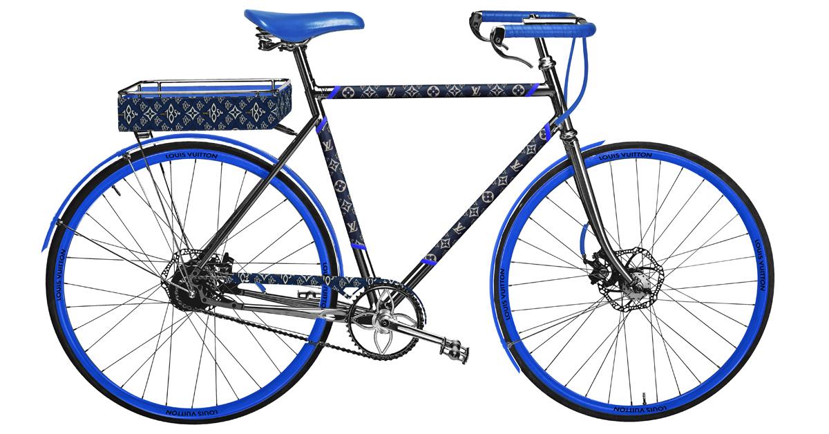 LV老花跳上自行車 !巴黎百年老廠手工打造,96萬一台騎到路上太浪費啦!-5