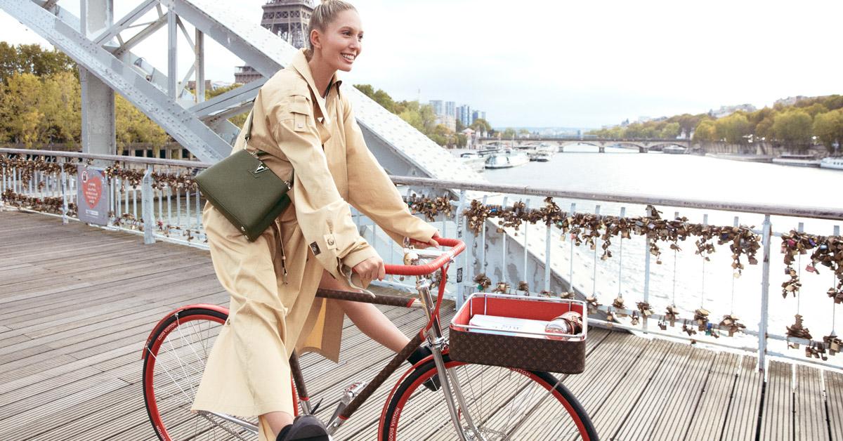 LV老花跳上自行車 !巴黎百年老廠手工打造,96萬一台騎到路上太浪費啦!-0