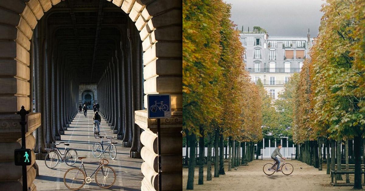 LV老花跳上自行車 !巴黎百年老廠手工打造,96萬一台騎到路上太浪費啦!-3