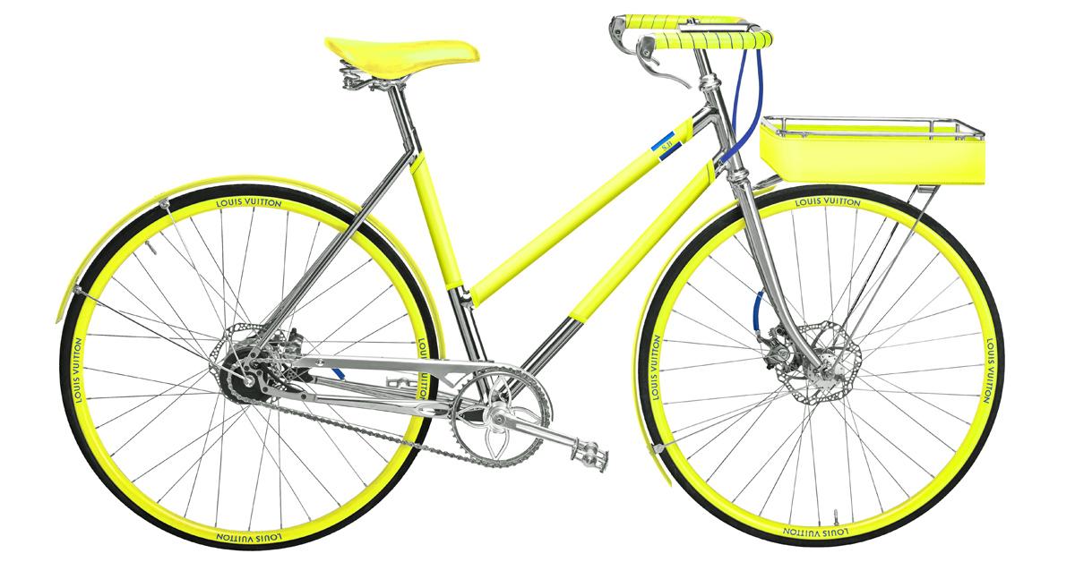 LV老花跳上自行車 !巴黎百年老廠手工打造,96萬一台騎到路上太浪費啦!-8