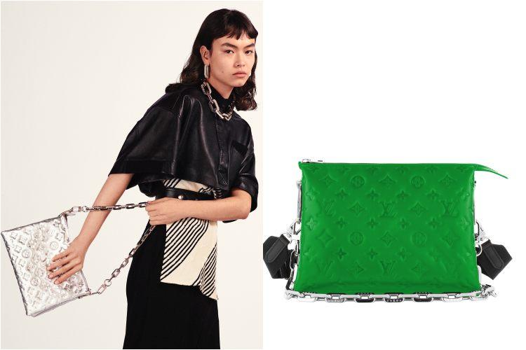 LV台灣線上購物獨賣「迷你枕頭包」 !!3種背法肩帶還能當項鍊,Coussin未上架楊丞琳與Kiwi已搶揹-0