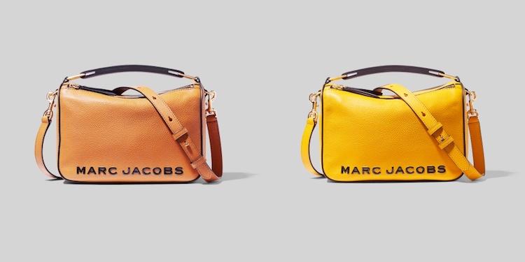 Marc Jacobs相機包遇對手!Logo包全新登場,萊姆黃、梨子褐,2021開運色就是它們-0