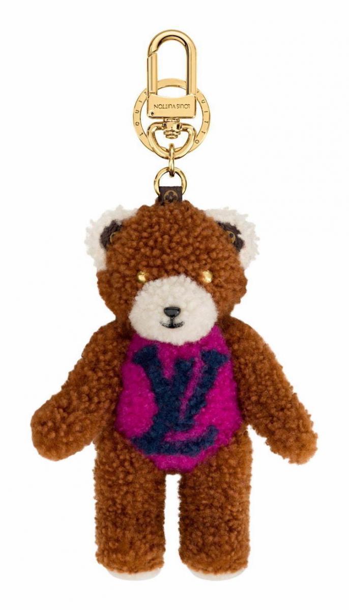 """LV老花變身「泰迪熊」!Neverfall、Speedy到水桶包全都給它""""毛""""起來!-9"""