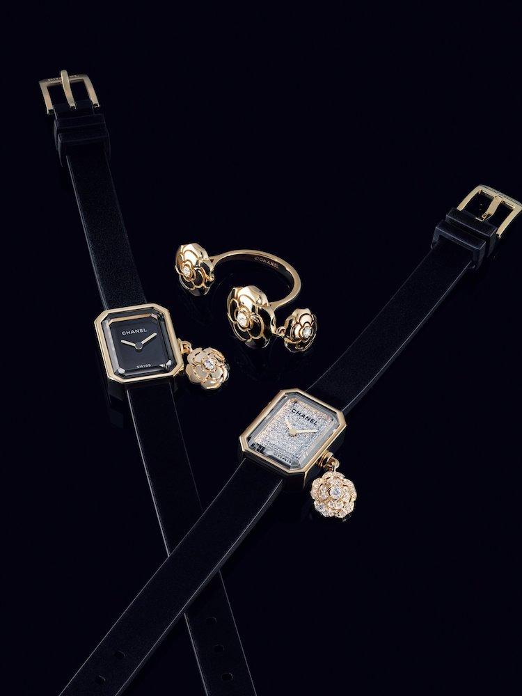 Chanel手錶首推Première!品牌第一支手錶推出山茶花吊飾新款,小香迷怎麼能不收藏?-3
