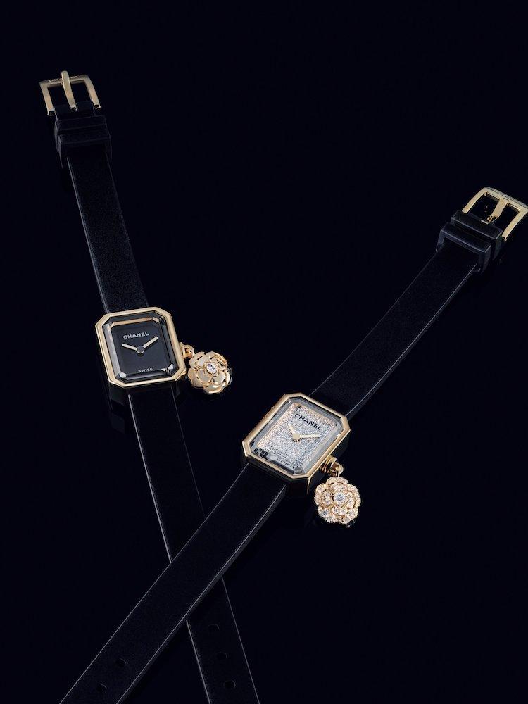 Chanel手錶首推Première!品牌第一支手錶推出山茶花吊飾新款,小香迷怎麼能不收藏?-4