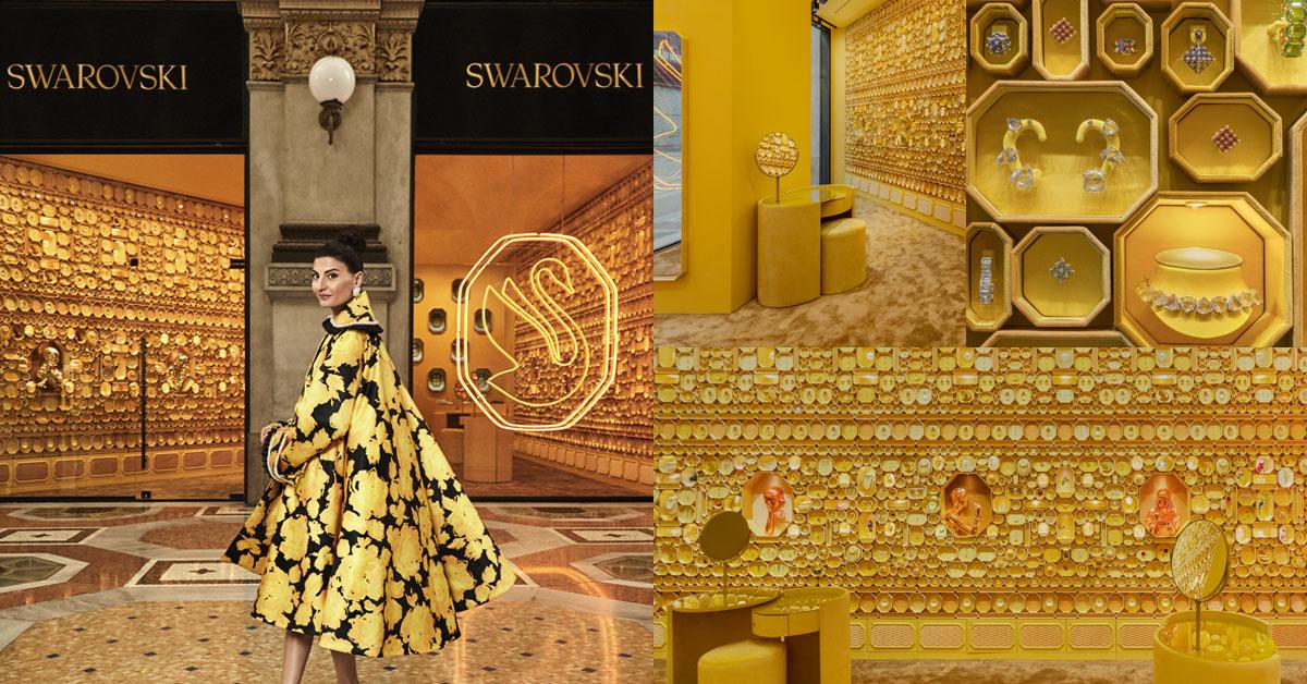 Swarovski店裝改頭換面!新任創意總監揭露全新旗艦店,百年水晶品牌至今最大轉型-0