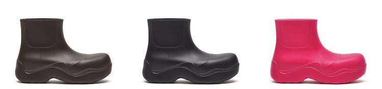 BV雲朵包、方頭鞋已不夠看!全新厚底雨鞋,酪梨、莓果色太可口-4