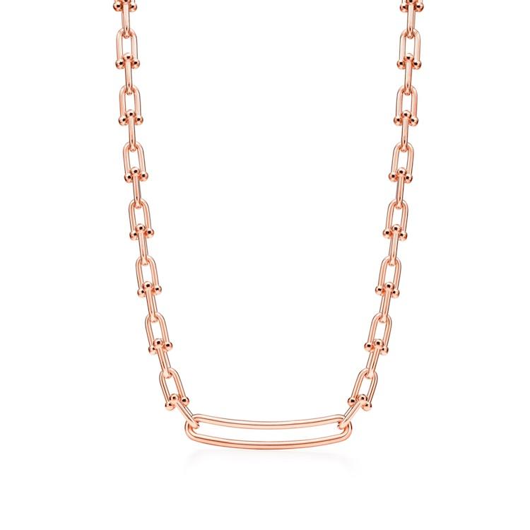 Tiffany珠寶推薦「HardWare」系列!南韓史上最暢銷女歌手,BLACKPINK Rosé穿搭必備這條金項鍊-5