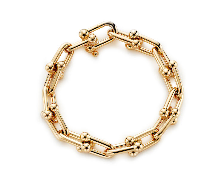 Tiffany珠寶推薦「HardWare」系列!南韓史上最暢銷女歌手,BLACKPINK Rosé穿搭必備這條金項鍊-4