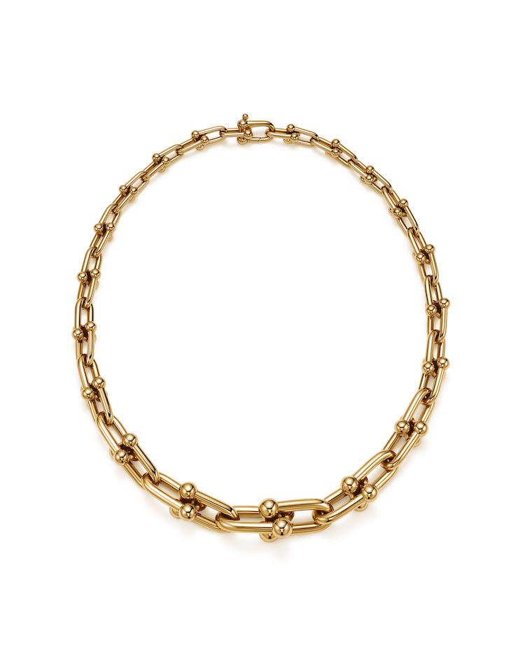 Tiffany珠寶推薦「HardWare」系列!南韓史上最暢銷女歌手,BLACKPINK Rosé穿搭必備這條金項鍊-3