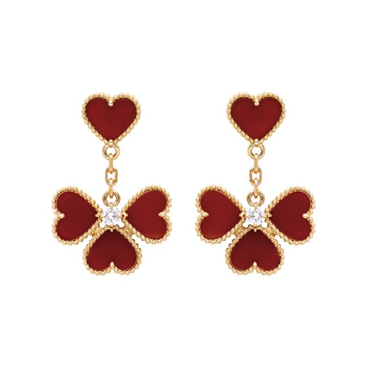 Van Cleef & Arpels珠寶首選!「四葉草」變愛心太可愛,西洋情人節打造限定單品-2
