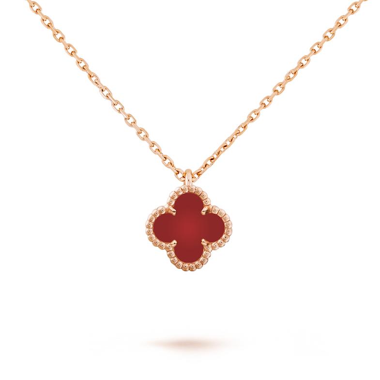 Van Cleef & Arpels珠寶首選!「四葉草」變愛心太可愛,西洋情人節打造限定單品-5
