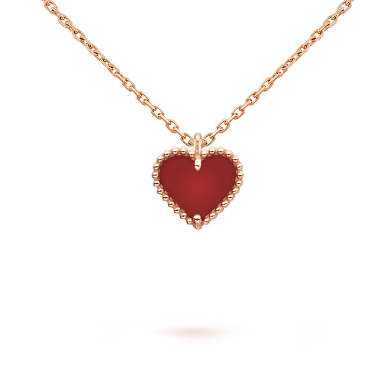 Van Cleef & Arpels珠寶首選!「四葉草」變愛心太可愛,西洋情人節打造限定單品-4