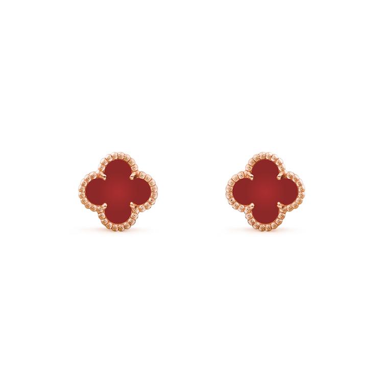 Van Cleef & Arpels珠寶首選!「四葉草」變愛心太可愛,西洋情人節打造限定單品-6