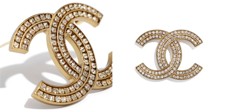Chanel首飾推薦這10款胸針 !沒有2.55、19、boy chanel沒關係 ,cc logo胸針讓你秒變時尚部落客!-4