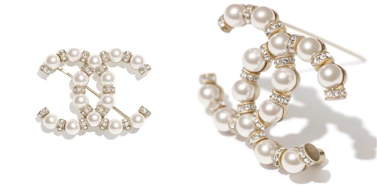 Chanel首飾推薦這10款胸針 !沒有2.55、19、boy chanel沒關係 ,cc logo胸針讓你秒變時尚部落客!-3