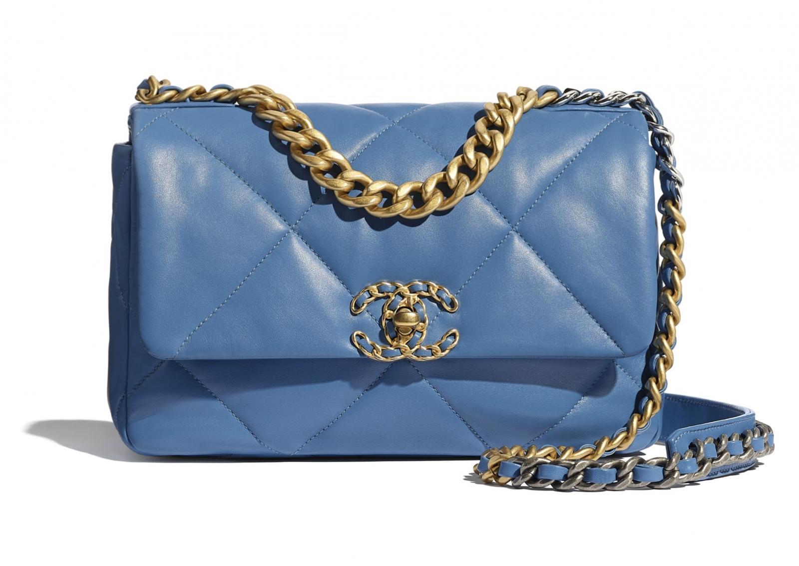 """2020秋冬包包跟著「迷霧藍」走!Chanel、LV、Celine...盤點10款""""全天候""""包款-0"""