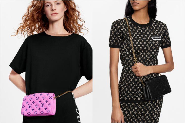 LV台灣線上購物獨賣「迷你枕頭包」 !!3種背法肩帶還能當項鍊,Coussin未上架楊丞琳與Kiwi已搶揹-4