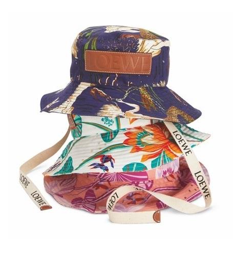 「漁夫帽」最修飾臉型!從「花色、材質、品牌」精準下手,6款2020年夏季人氣款一次看-3
