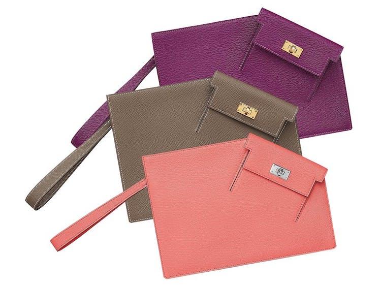 Hermès凱莉包家族新成員! 「Kelly Pocket To Go Pouch」延續系列基因,三種配色一個比一個吸睛-3