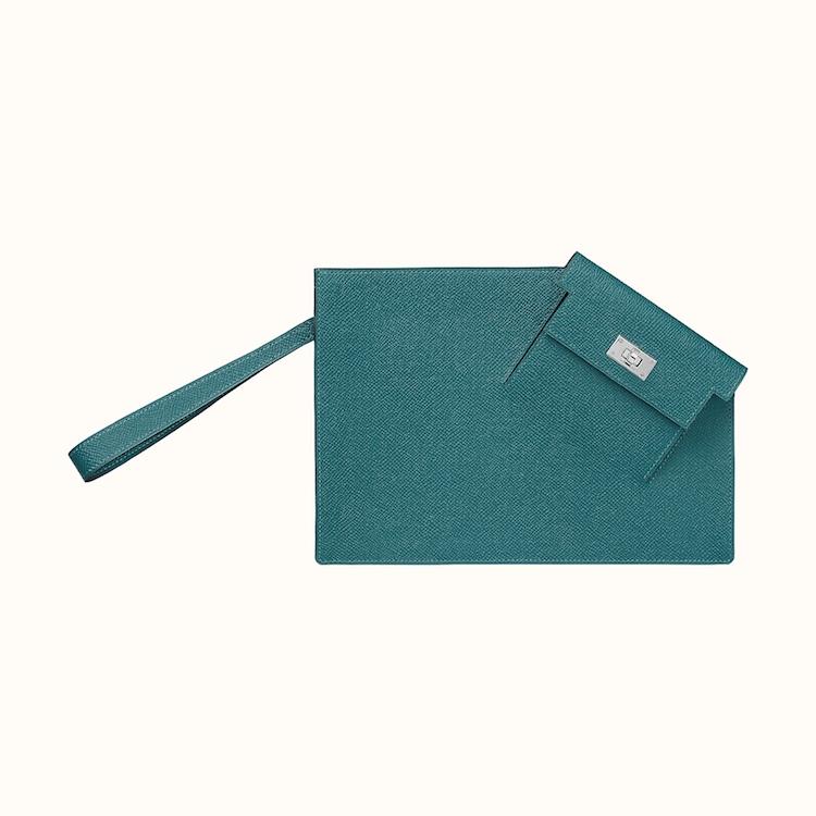 Hermès凱莉包家族新成員! 「Kelly Pocket To Go Pouch」延續系列基因,三種配色一個比一個吸睛-2