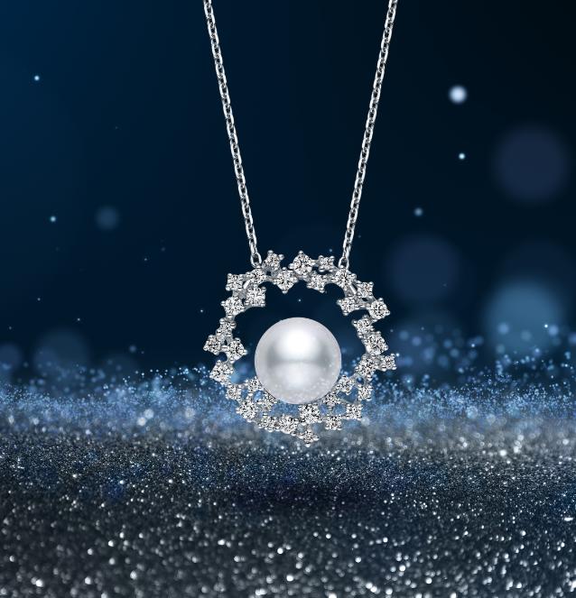 "Mikimoto珍珠混搭""羽毛""!珍貴寶石與金雕工藝,從聖誕閃亮到2021年!-2"