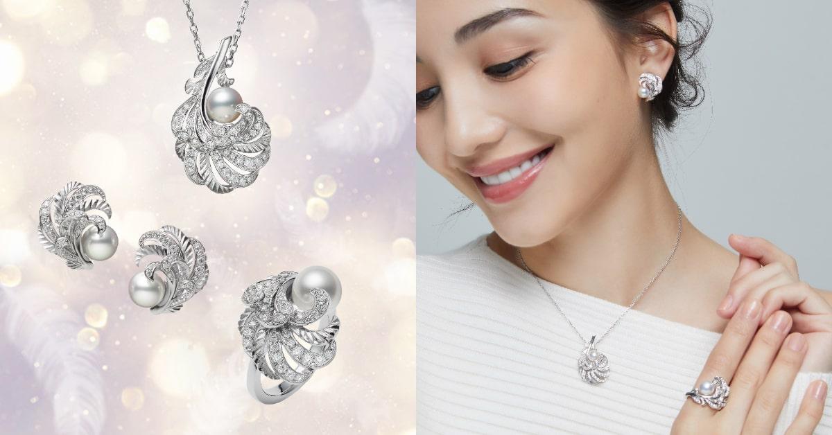 "Mikimoto珍珠混搭""羽毛""!珍貴寶石與金雕工藝,從聖誕閃亮到2021年!-0"
