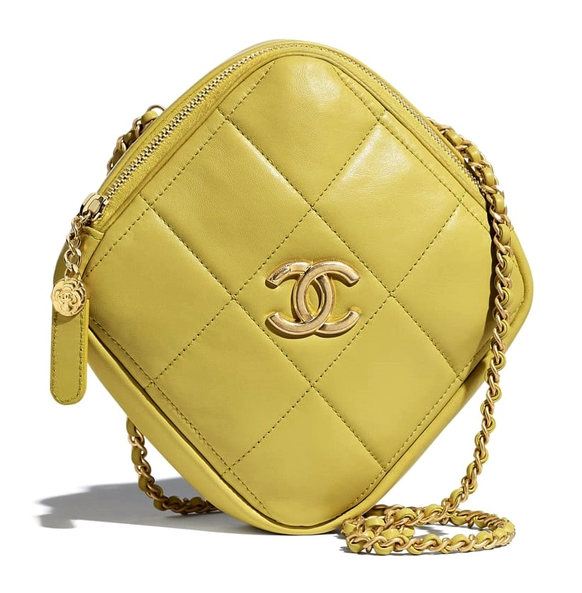 """2020秋冬穿搭重點是「戀楓黃」!Chanel、LV、Celine...8款包包開啟妳的""""黃""""金時代-1"""