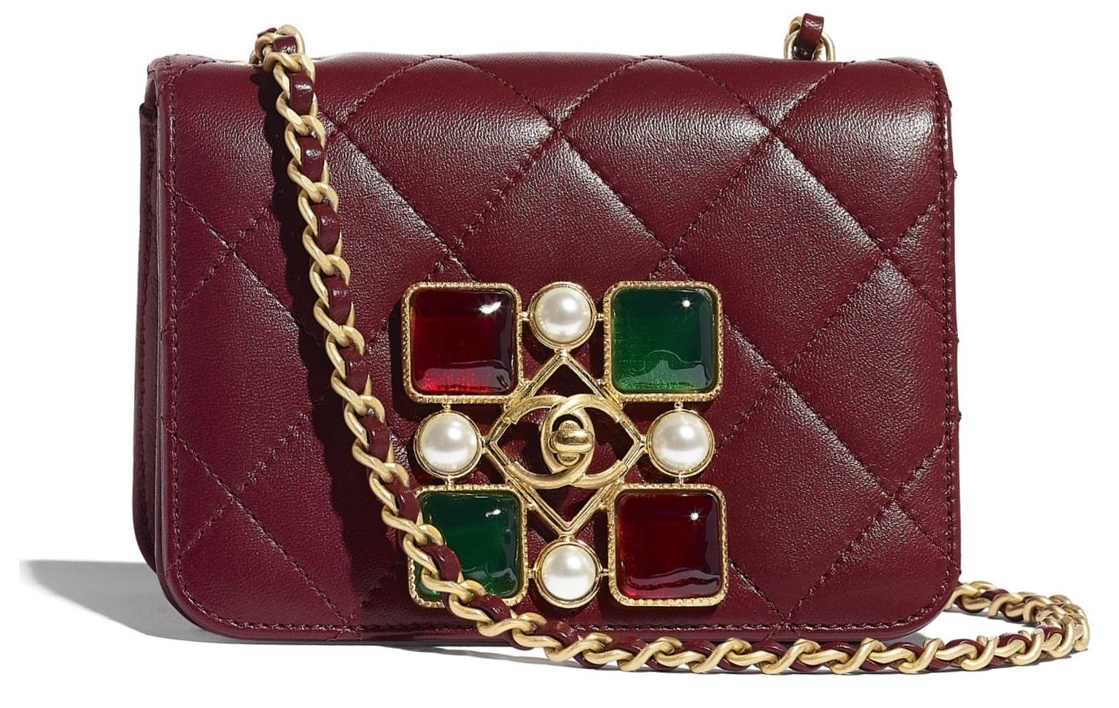 """2020秋冬包包流行""""酒红色""""!Chanel、Celine、Dior..10款不過時「酒红包」-0"""