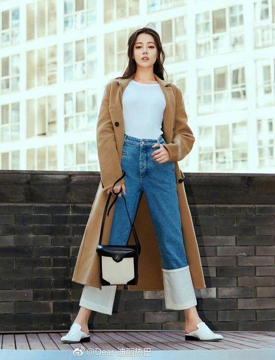《長歌行》迪麗熱巴獲封「最會穿牛仔褲」的女人,掌握5大穿搭技巧 ,視覺激增+15CM!-2