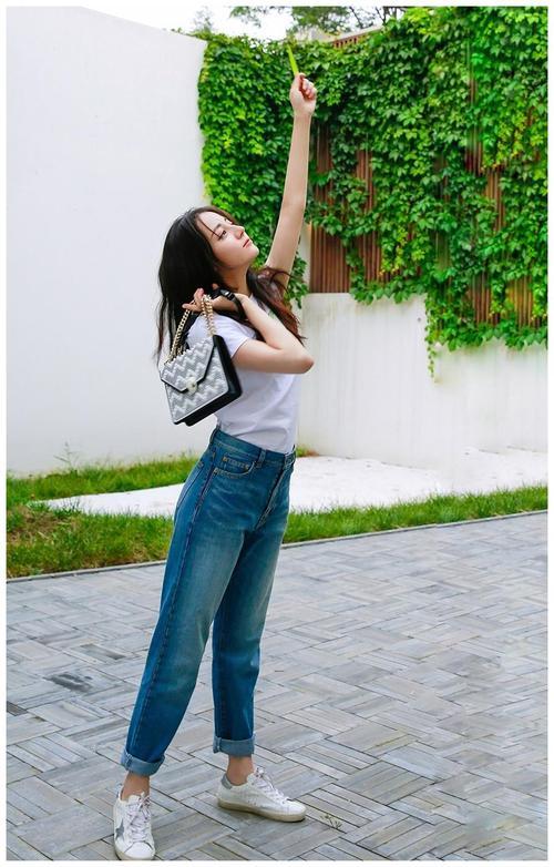 《長歌行》迪麗熱巴獲封「最會穿牛仔褲」的女人,掌握5大穿搭技巧 ,視覺激增+15CM!-3