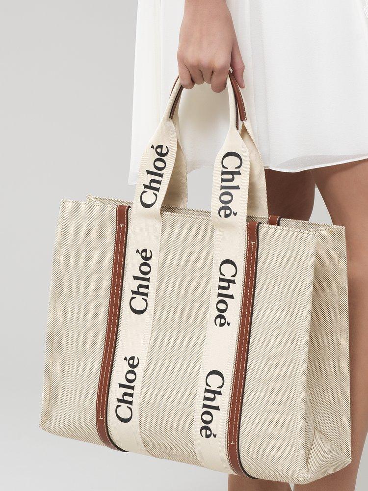 Chloé鎖頭包遇強敵!帆布托特包加上品牌大Logo,日本女孩已經搶翻天-0