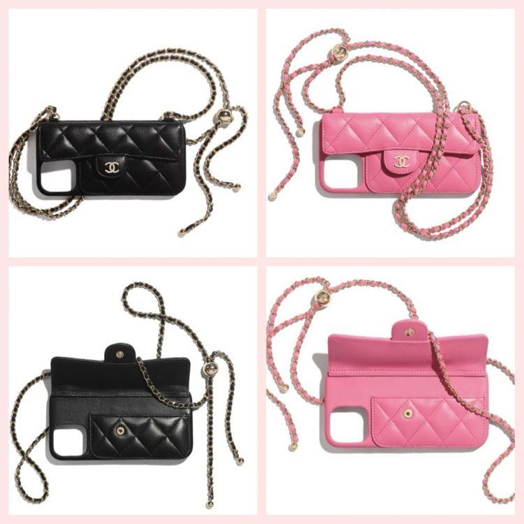 Chanel包買不起?2021最新爆款「背帶手機殼」,台灣竟也買得到!-1