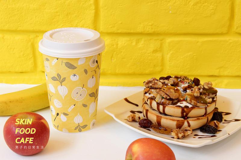 SKINFOOD TW CAFE,韓國美妝品牌台灣首間鬆餅咖啡店,明亮鮮黃可愛首爾空間