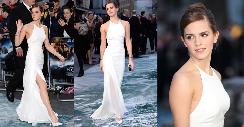 白色洋裝好顯胖?凱特王妃、Emma Watson、秀智,教妳穿出「女神」風範