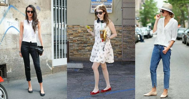 平底鞋這樣穿 嬌小女孩不顯矮