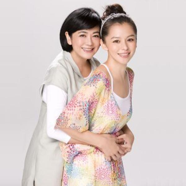 V哥(徐若瑄)跟媽媽