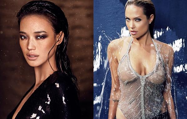 舒淇Hsu Chi性感嘴唇勝裘莉Angelina Jolie  台美兩大女神美唇PK術