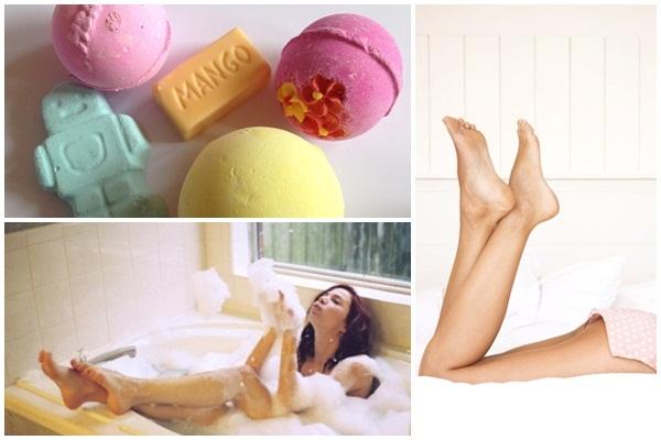 享瘦晚間泡澡,改善壓力肥!