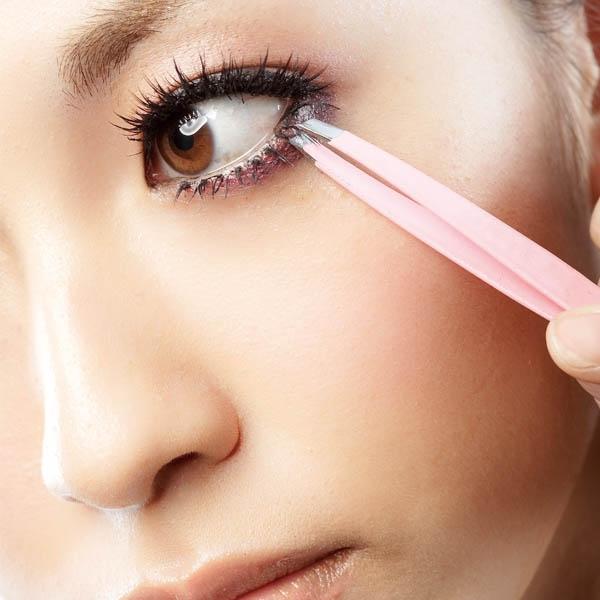 假睫毛 關鍵在於修剪出適合自己眼型