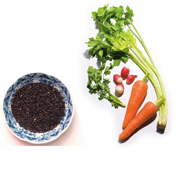 均勻攝取三大類食材 吃出一頭健康秀髮