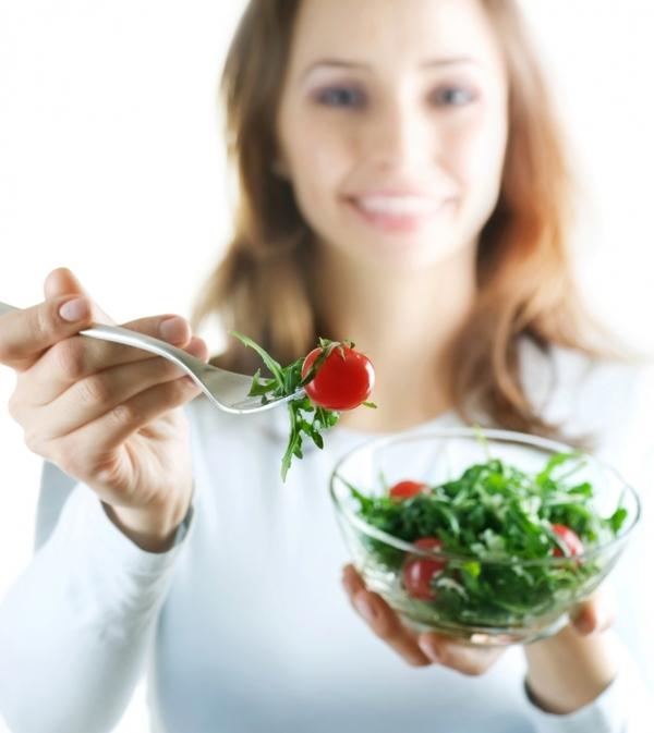 吃素很健康。