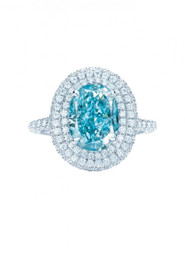 Tiffany 175週年紀念藍鑽