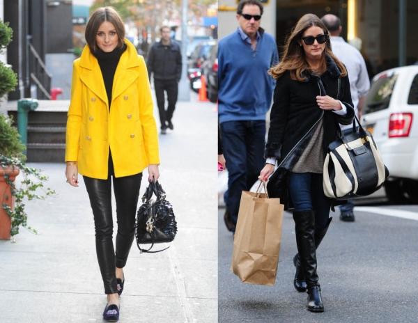 名媛奧利維亞巴勒莫 Olivia Palermo 的大衣顯瘦穿搭守則