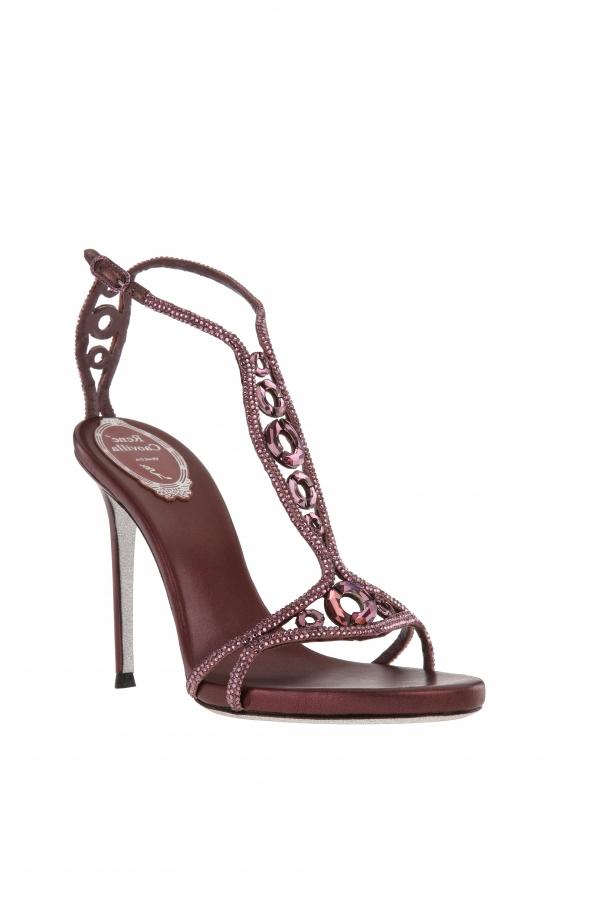 水晶寶石高跟鞋 NT$49,000.