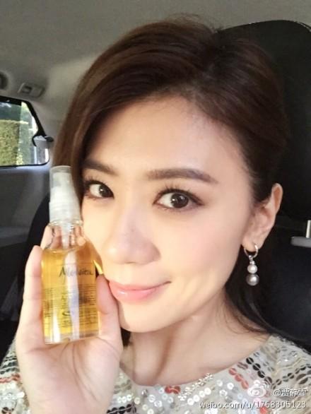 賈靜雯曾在微博上分享愛用的有機植物油